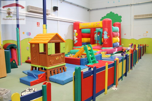 Cumplea os taller y pik party duendes en madrid planes for Decoracion parques
